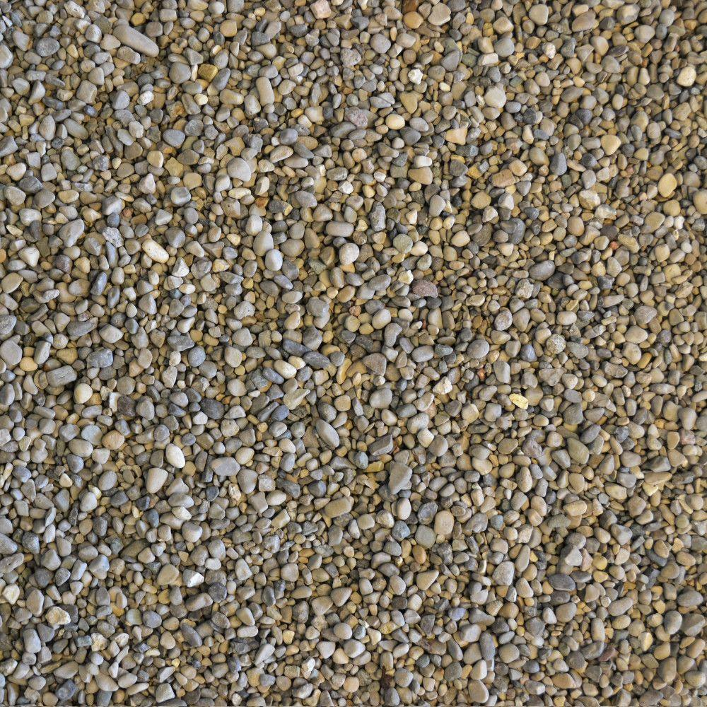 3 4 Quot Crushed Gravel : Yards bulk pea gravel st wg the home depot