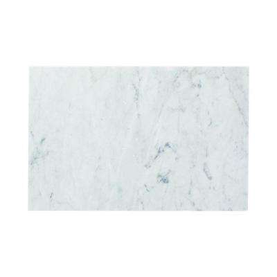 Carrara 8 in. x 12 in. Honed Marble Wall Tile (4 sq. ft. / case)
