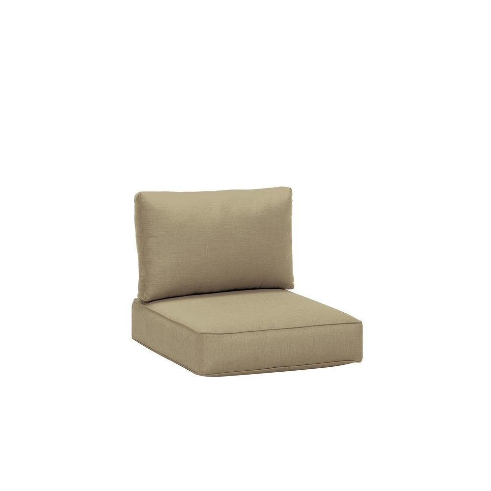 Northshore Patio Right Arm Sectional Replacement Cushions in Meadow