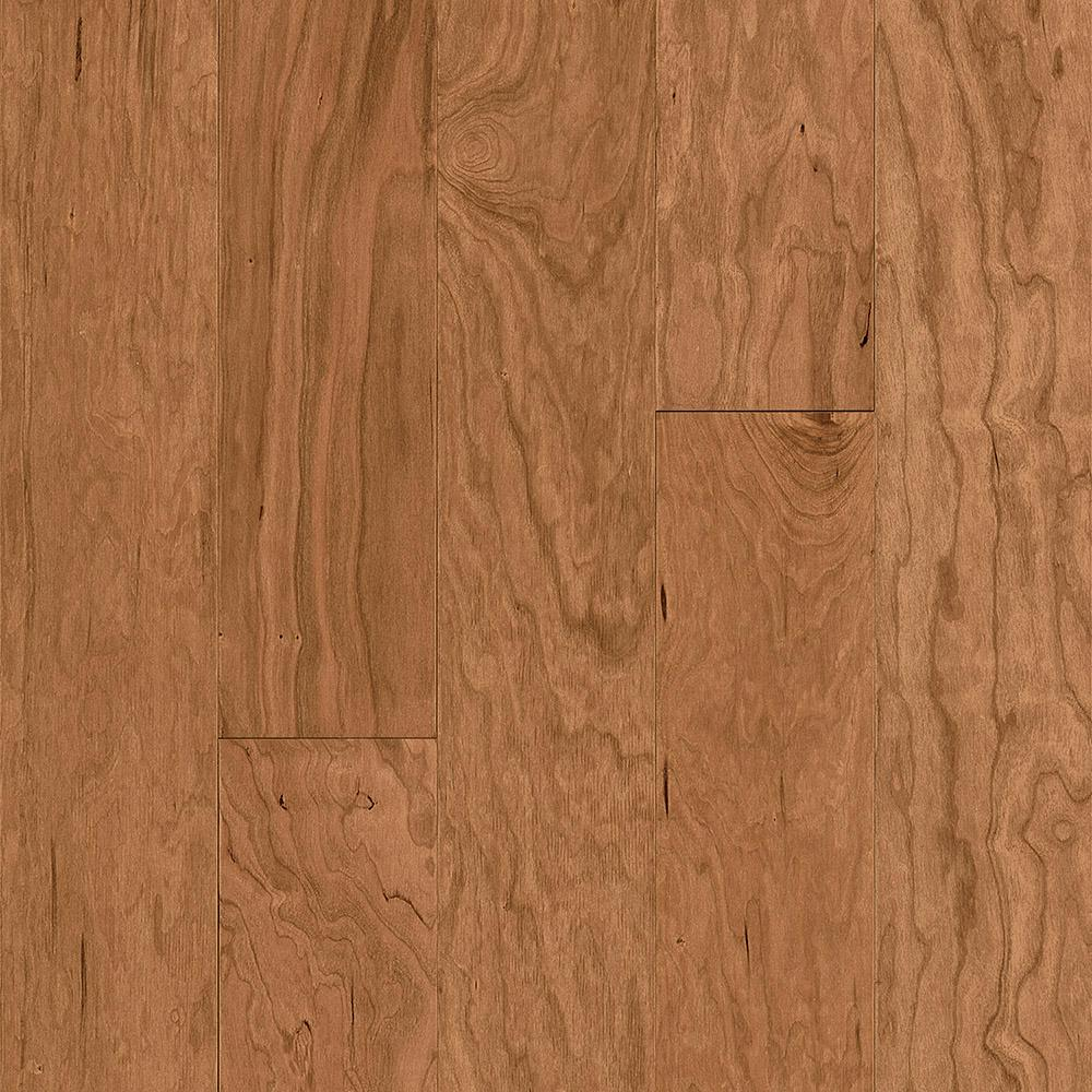 Bruce American Vintage Cherry Natural 1 2 In Thick X 5 Width Varying Length Eng Hardwood Flooring 28 Sq Ft