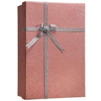 0.12 cu. ft. Steel Gift Box Lock Box Safe with Key Lock, Pink