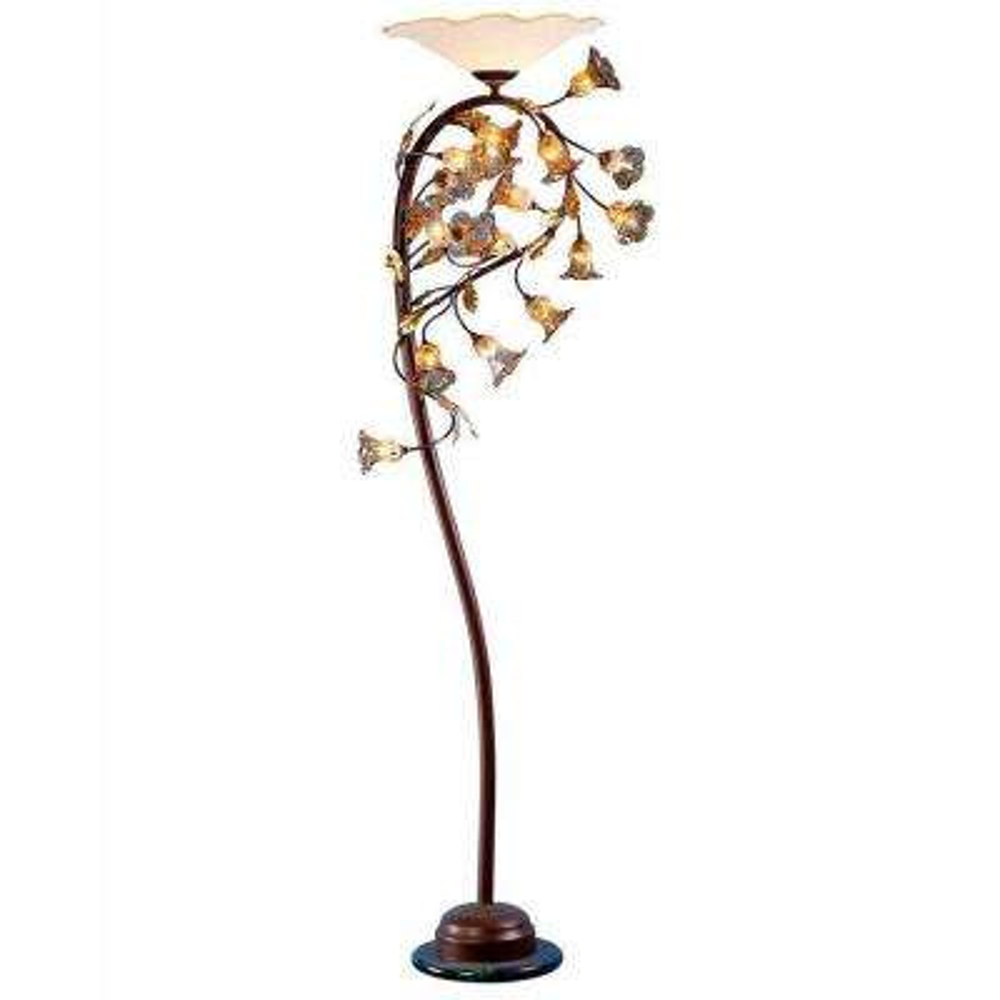 Xavier 72.1 in. Antique Bronze Floor Lamp