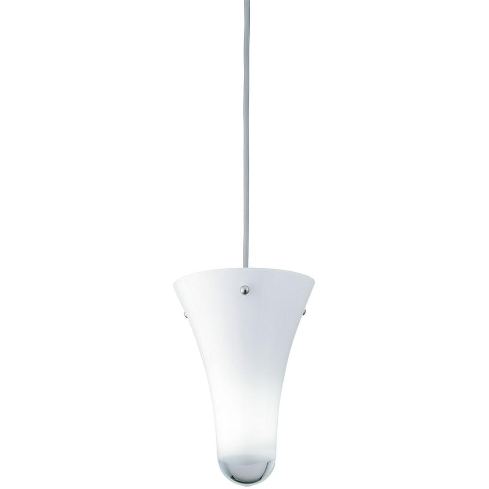lithonia lighting 1 light white hanging mini pendant 11996 gw m6