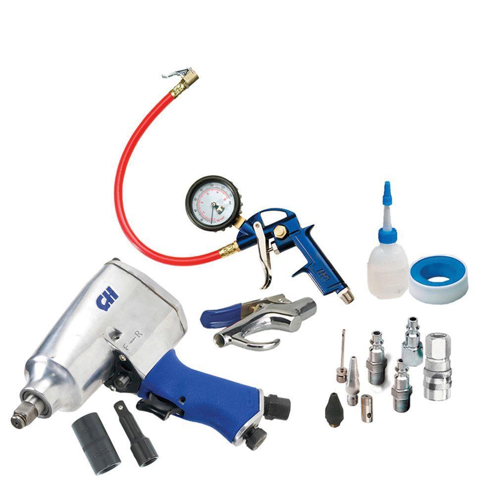 Campbell Hausfeld Home Garage Automotive Tire Maintenance Kit-DISCONTINUED
