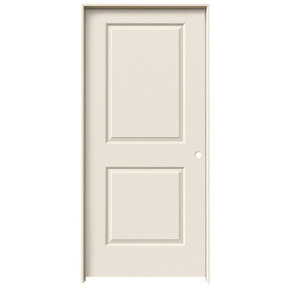 Jeld Wen 32 In X 78 In Cambridge Primed Left Hand Smooth Molded