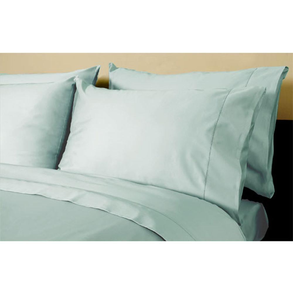 Home Decorators Collection Hemstitched Watery Standard Pillowcases