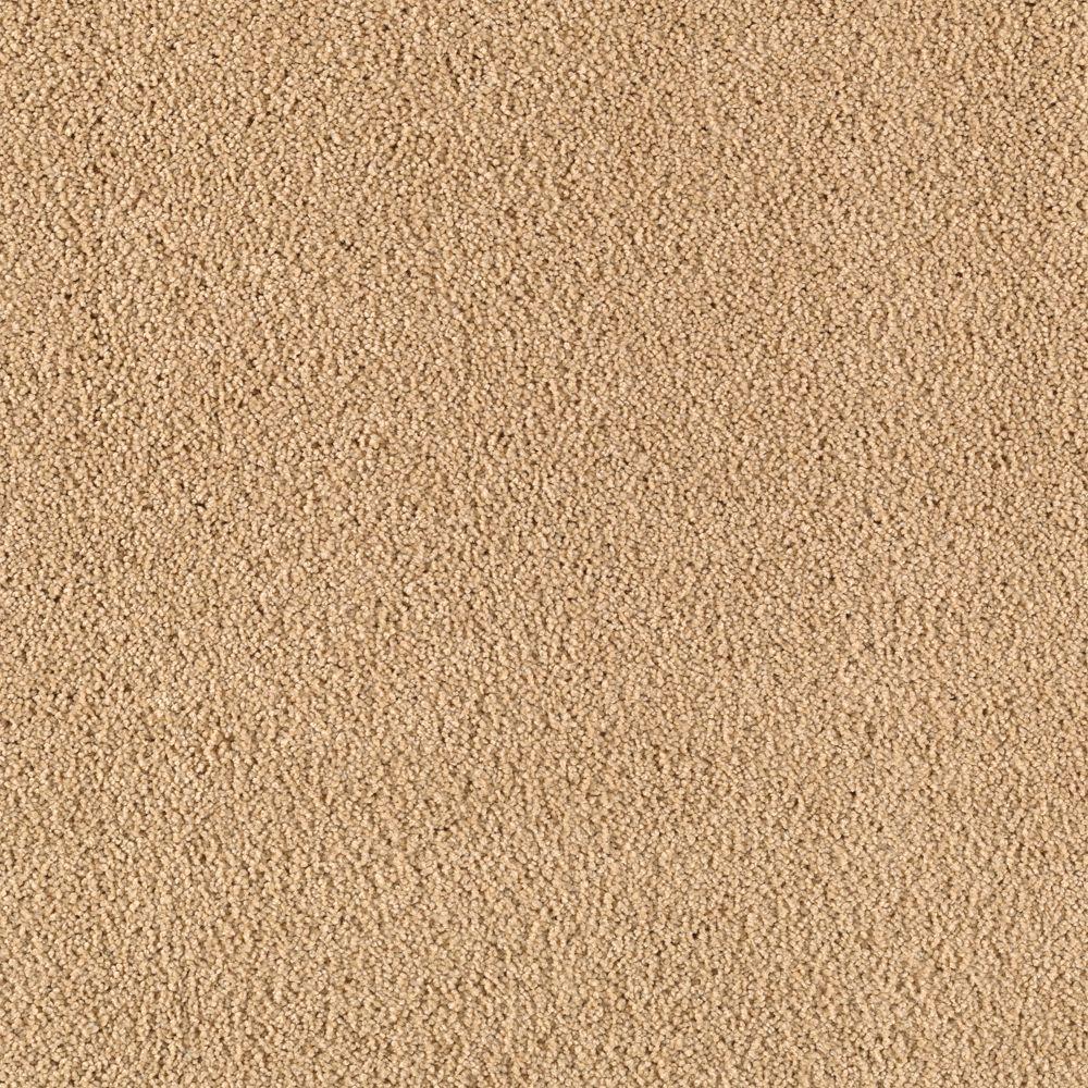 Cashmere II - Color Beige Twill Texture 12 ft. Carpet