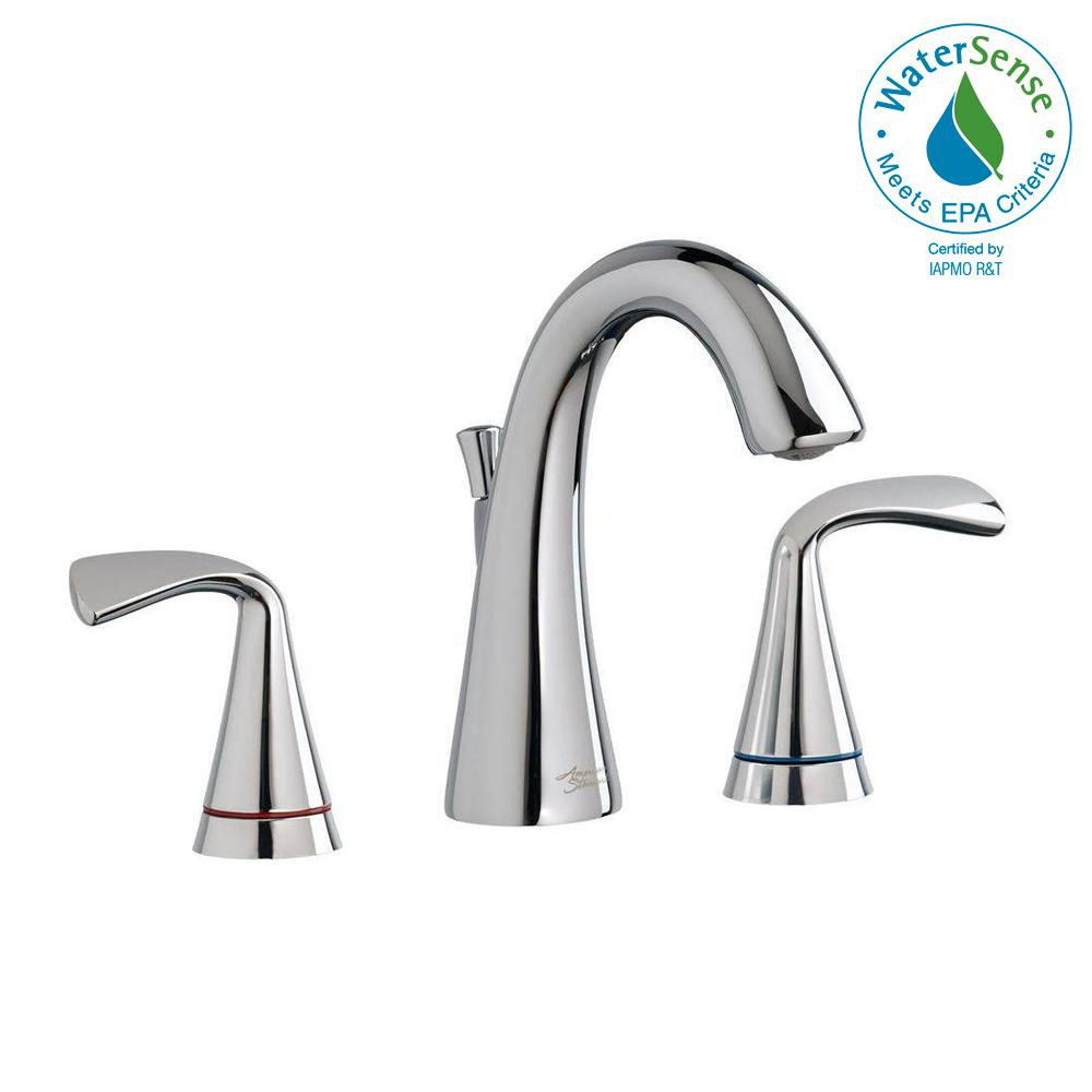 Fluent 8 in. Widespread Bathroom Faucet with Speed Connect Drain and