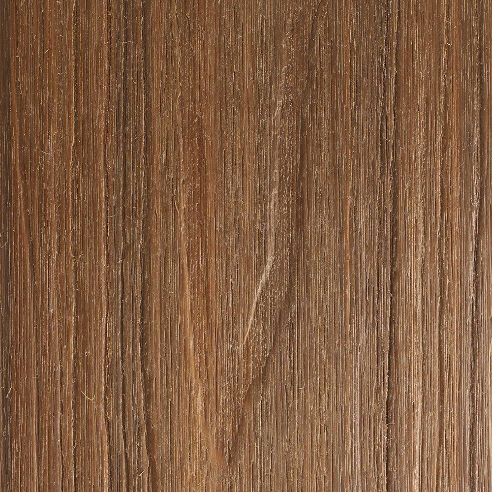 NewTechWood UltraShield Naturale Voyager 1 in. x 6 in. x 16 ft. Peruvian Teak Hollow Composite Decking Board