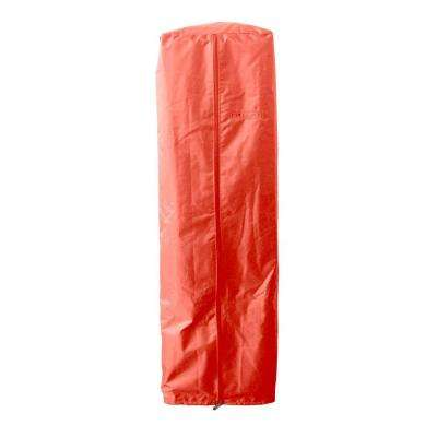 38 in. Heavy Duty Paprika Portable Glass Tube Heater Cover