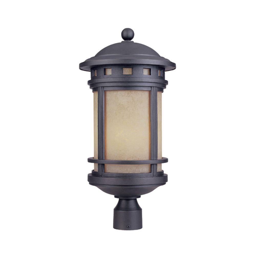 Designers Fountain Mesa 3-Light Oil Rubbed Bronze Outdoor Post Lantern
