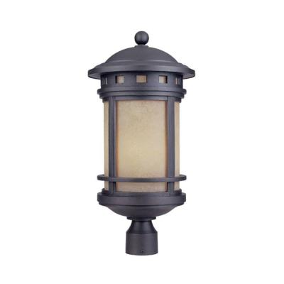Sedona 3-Light Oil Rubbed Bronze Outdoor Post Lantern