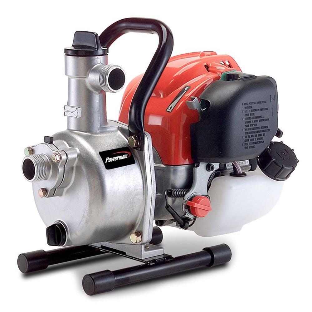Powermate 1 in. Dewatering Pump with Honda GX Engine