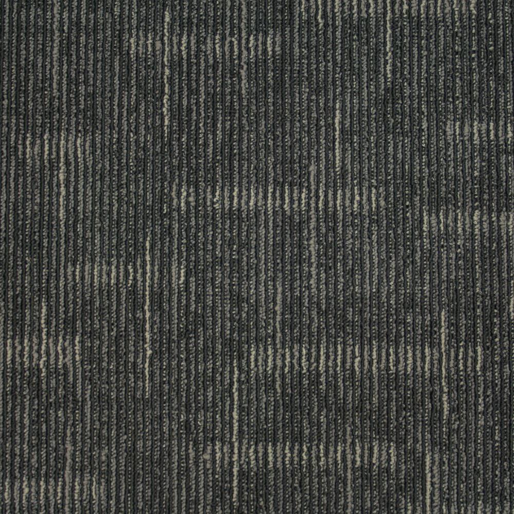 Simply Comfort Sky Grey Loop 19.7 in. x 19.7 in. Carpet Tile (20 Tiles/ Case)