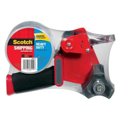 Scotch 1.88 in. x 54.6 yds. Heavy Duty Shipping Packaging Tape with Dispenser