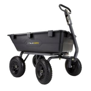Gorilla Carts 1,200 lb. Heavy Duty Poly Dump Cart by Gorilla Carts