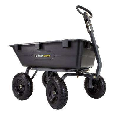 1,200 lb. Heavy Duty Poly Dump Cart