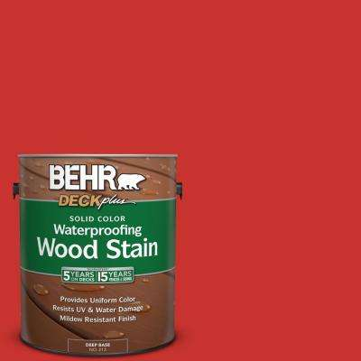 1 gal. #P170-7 100 Mph Solid Color Waterproofing Wood Stain