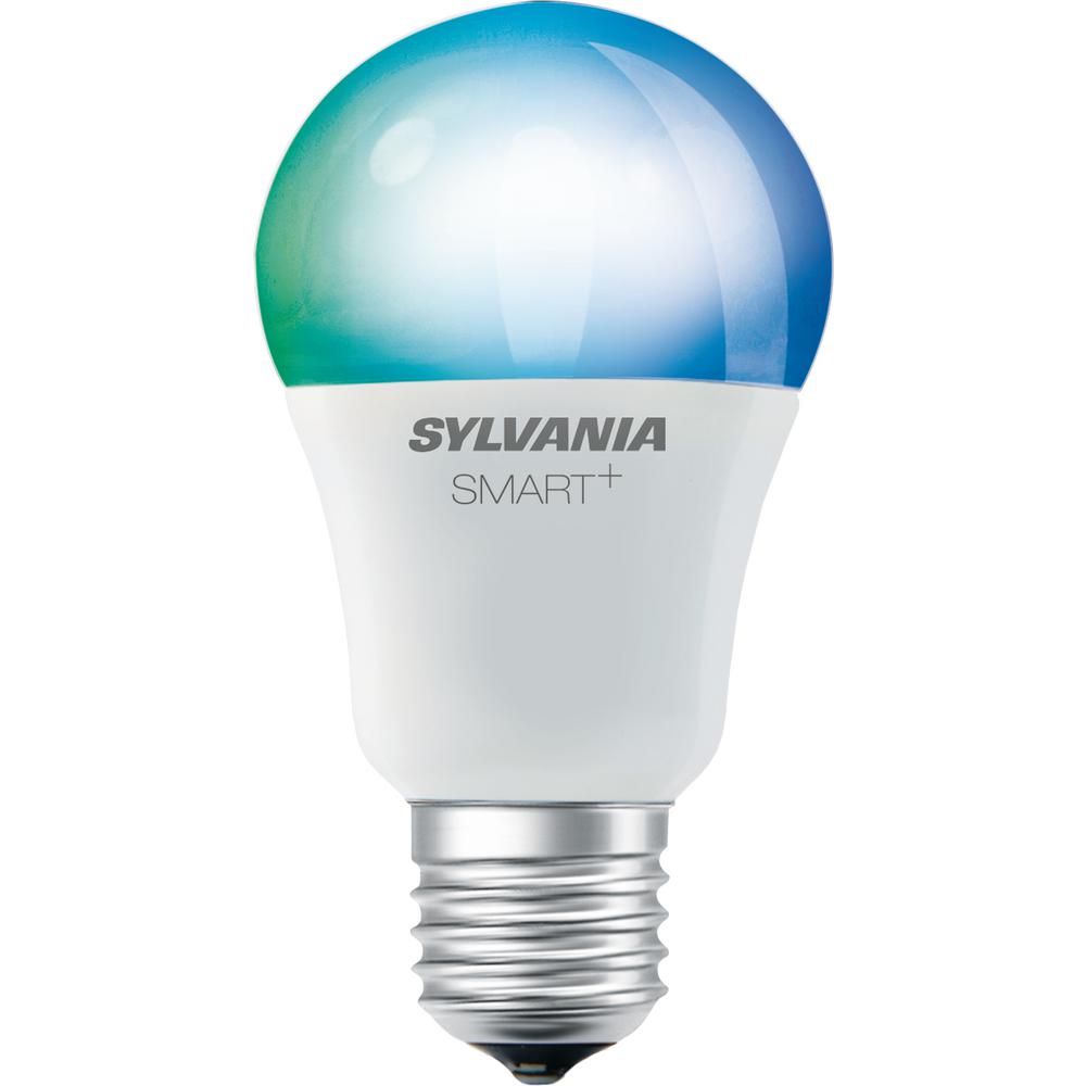 Smart Bluetooth 60w Equivalent Full Color A19 Led Light Bulb