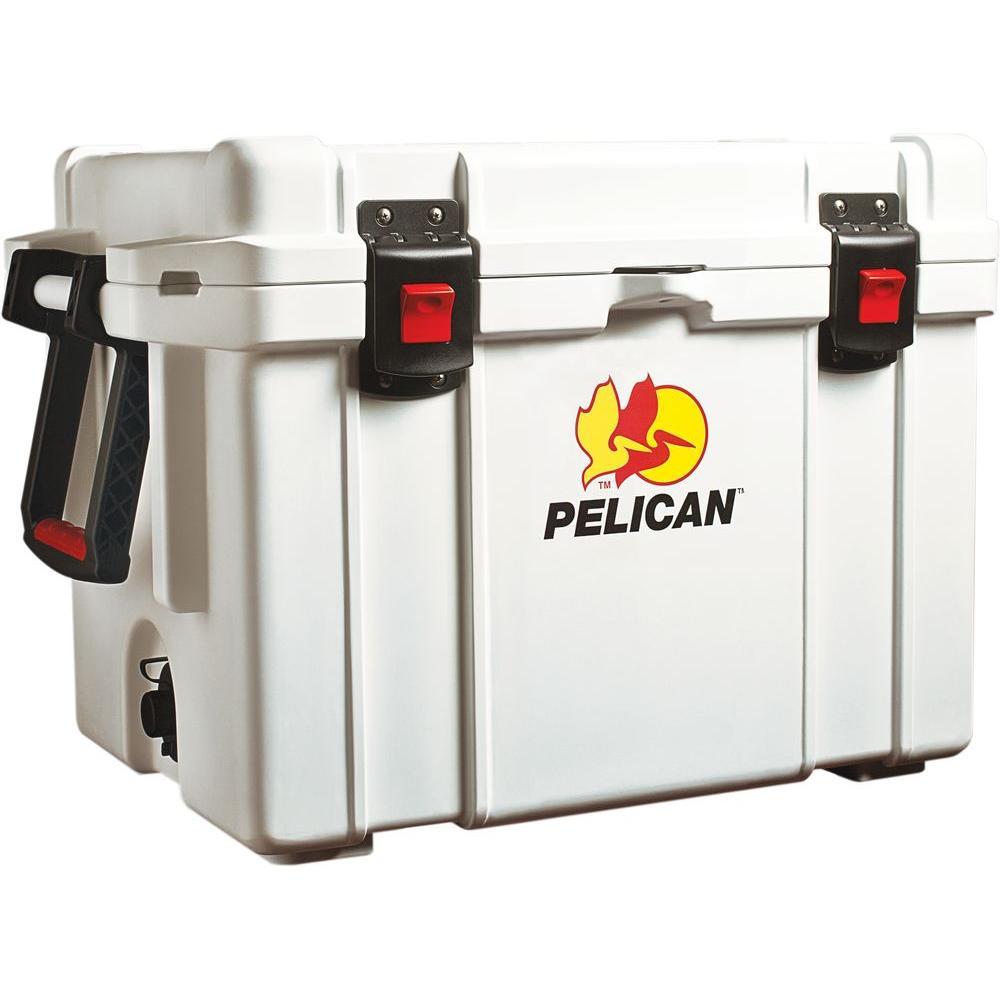 Pelican 45 Qt. White Elite Marine Cooler