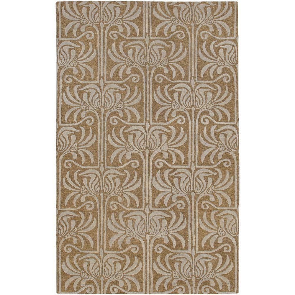 Artistic Weavers Antimony Brown 5 ft. x 8 ft. Area Rug