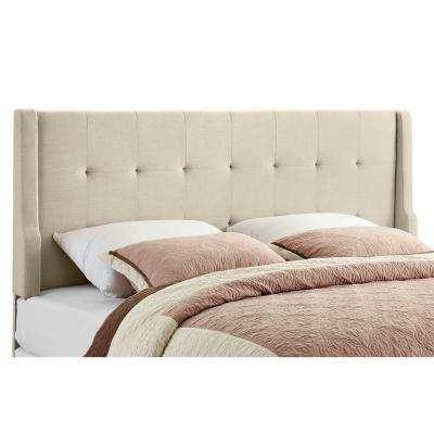 Luxe Natural King Headboard