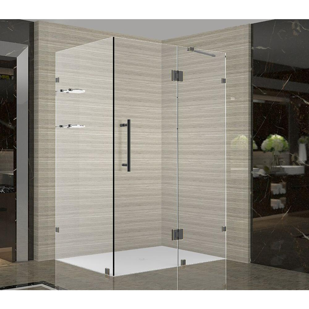 Aston Avalux GS 36 in. x 30 in. x 72 in. Completely Frameless Shower ...