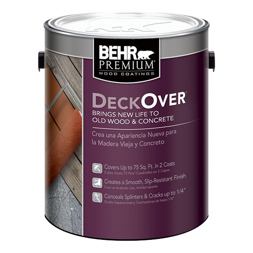 BEHR Premium DeckOver 1 gal. Wood and Concrete Coating