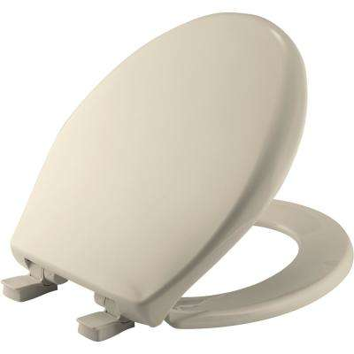 Affinity Round Closed Front Toilet Seat in Almond