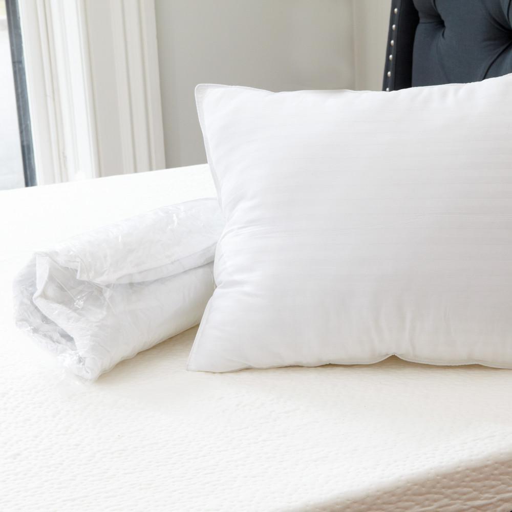 Quiet Sleep Gel Fiber Standard Pillow (2-Pack)