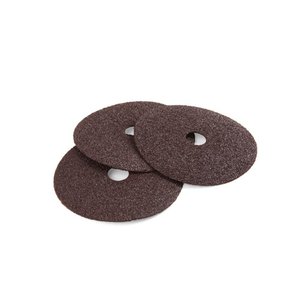 4 in. 36-Grit Sanding Discs (3-Pack)