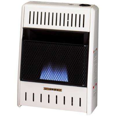 10,000 BTU Vent Less Blue Flame Natural Gas Space Heater with Manual Control