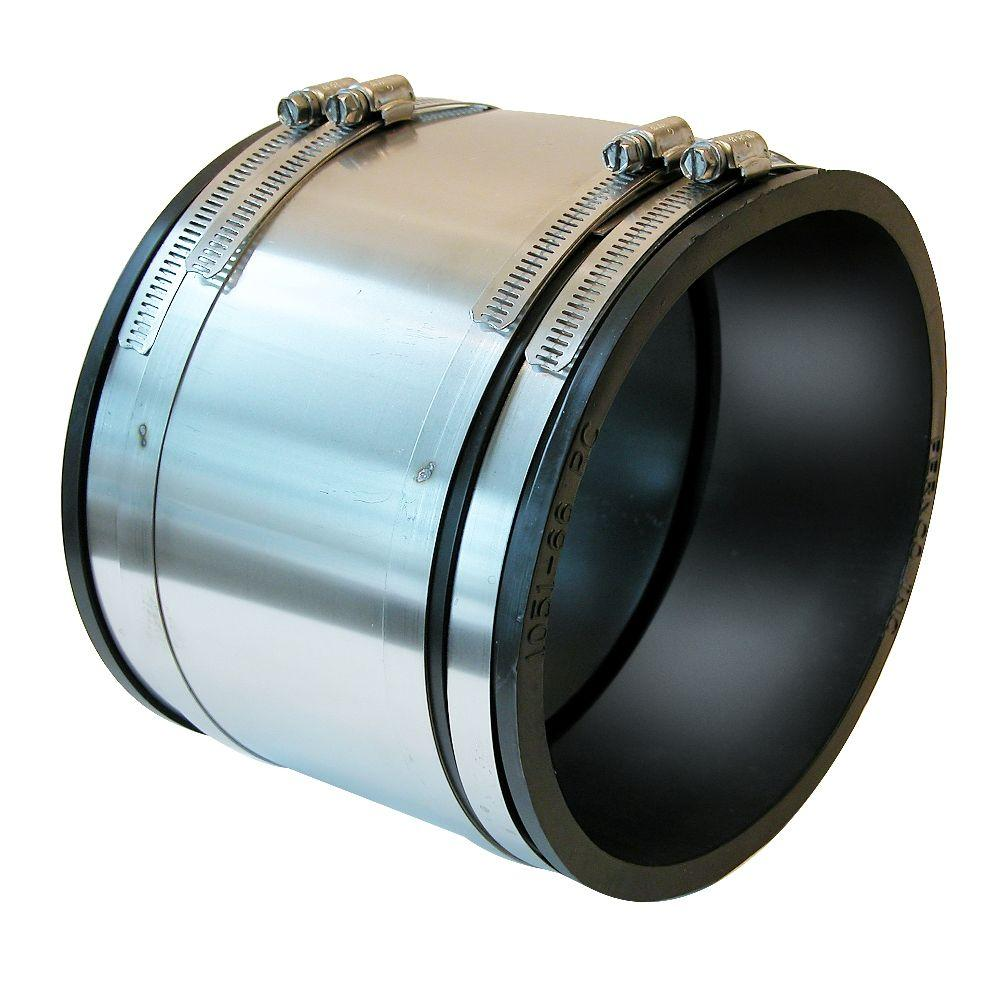 In flexible pvc shielded coupling p rc the home