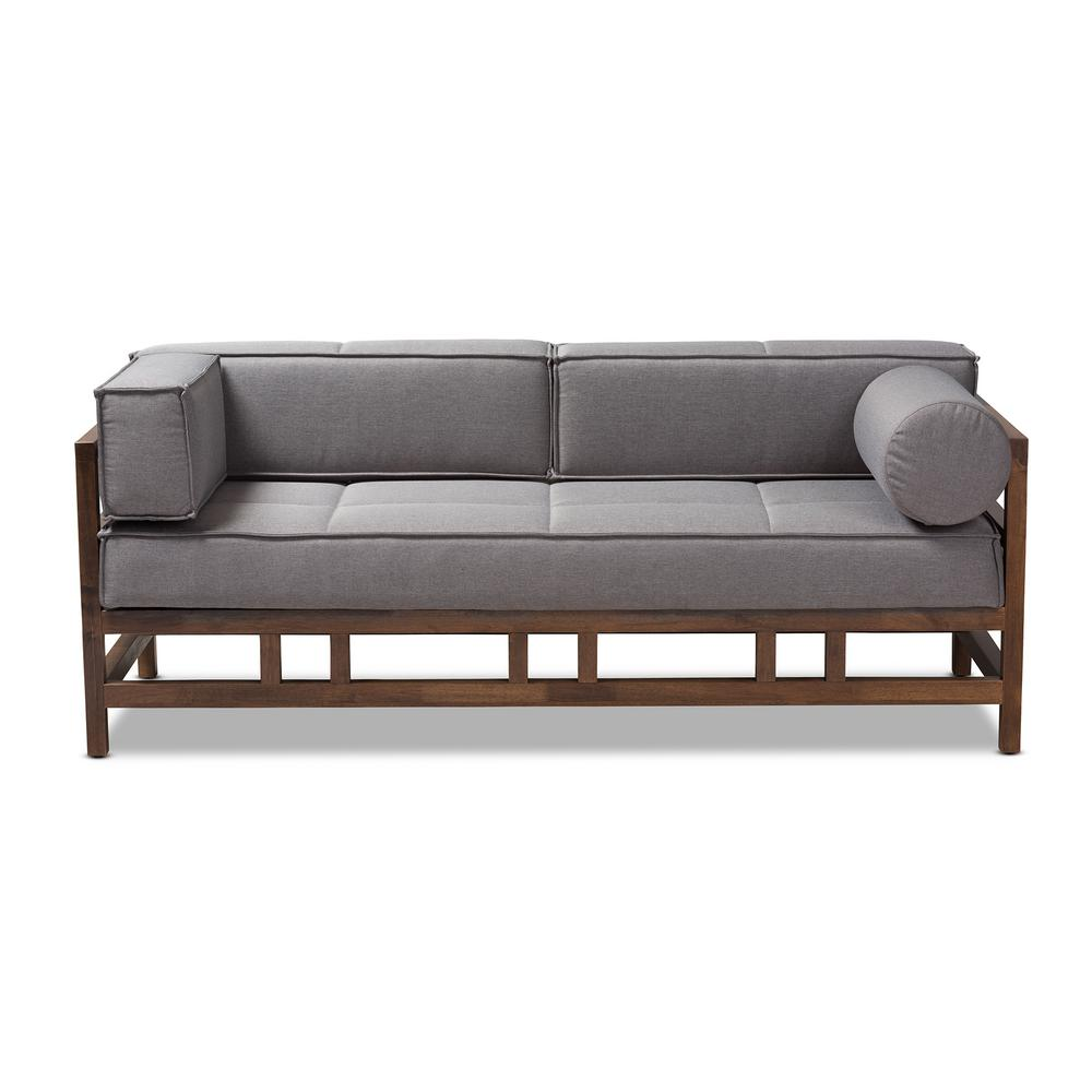 Shaw Gray Fabric Sofa