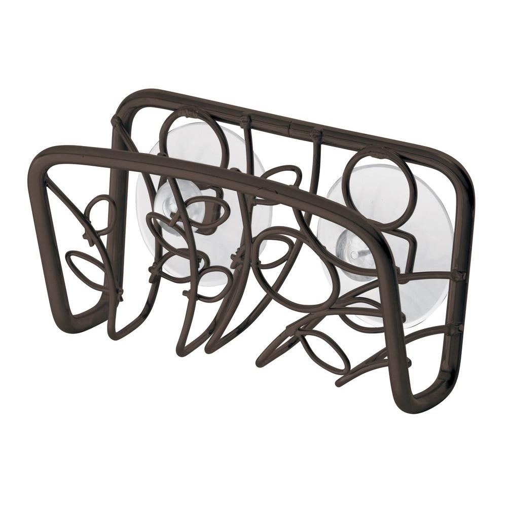 interDesign Twigz Suction Sink Cradle in Bronze