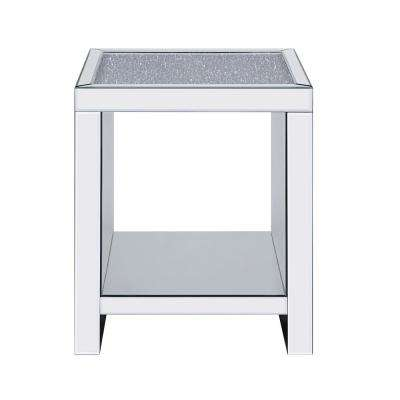 Malish Mirrored End Table
