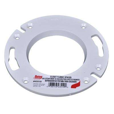 1/4 in PVC Flange Spacer