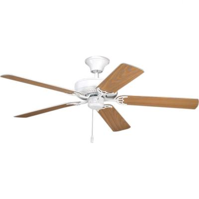 AirPro Builder 52 in. Indoor White Ceiling Fan