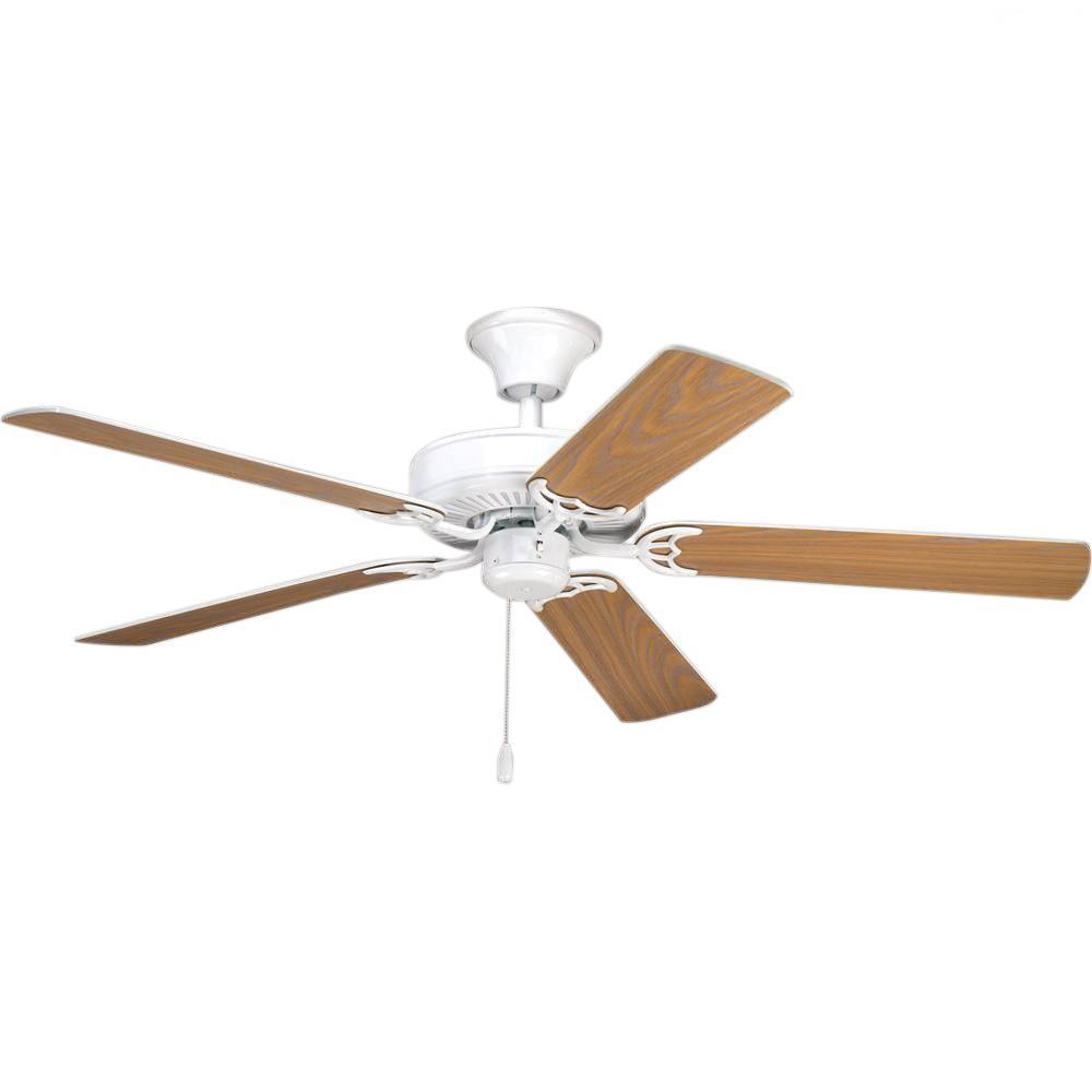 AirPro Builder 52 in. Indoor White Ceiling Fan