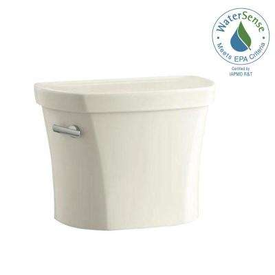 Wellworth 1.28 GPF Single Flush Toilet Tank Only with Insuliner in Almond