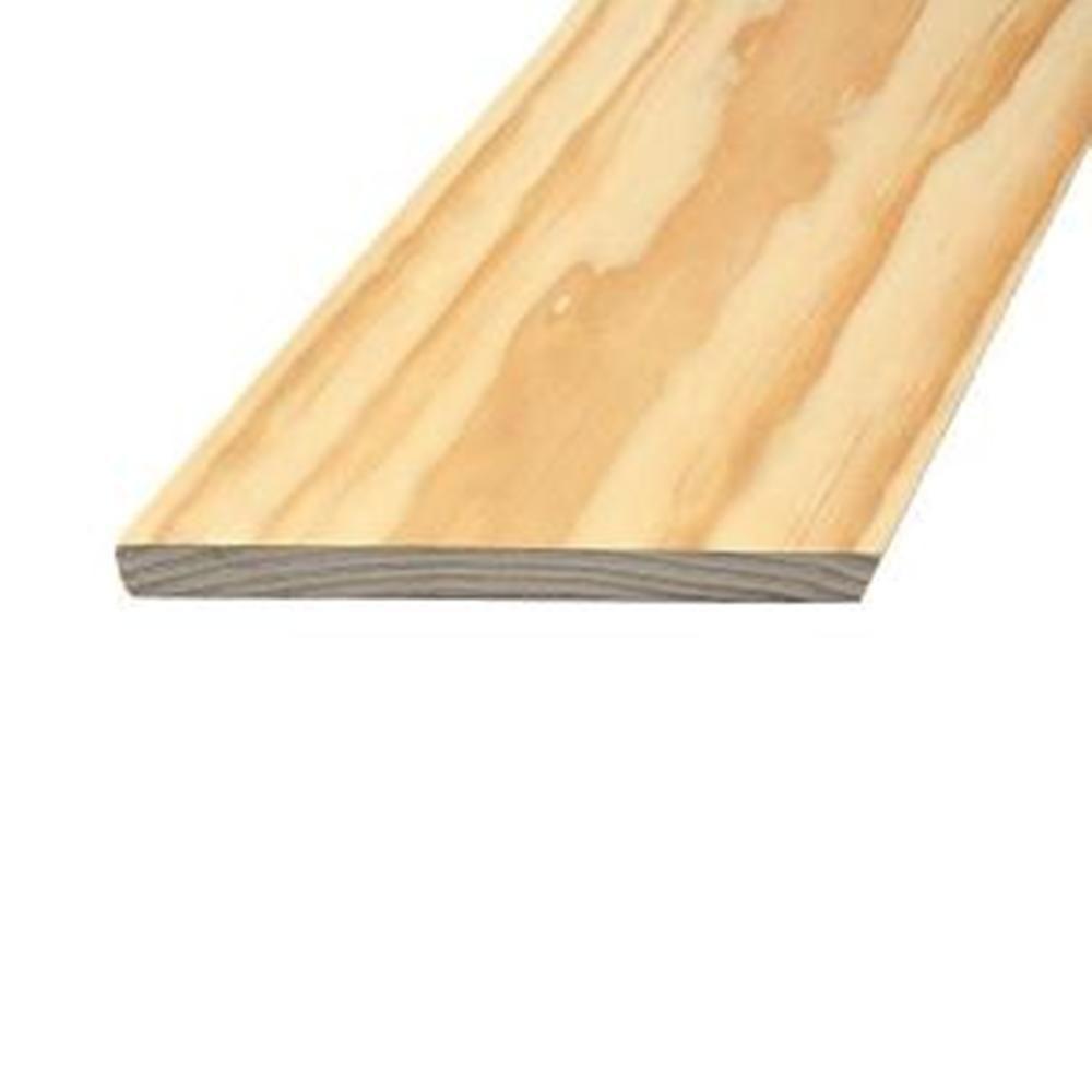 1 in. x 6 in. x 6 ft. Select Radiata Square Edge Pine Board