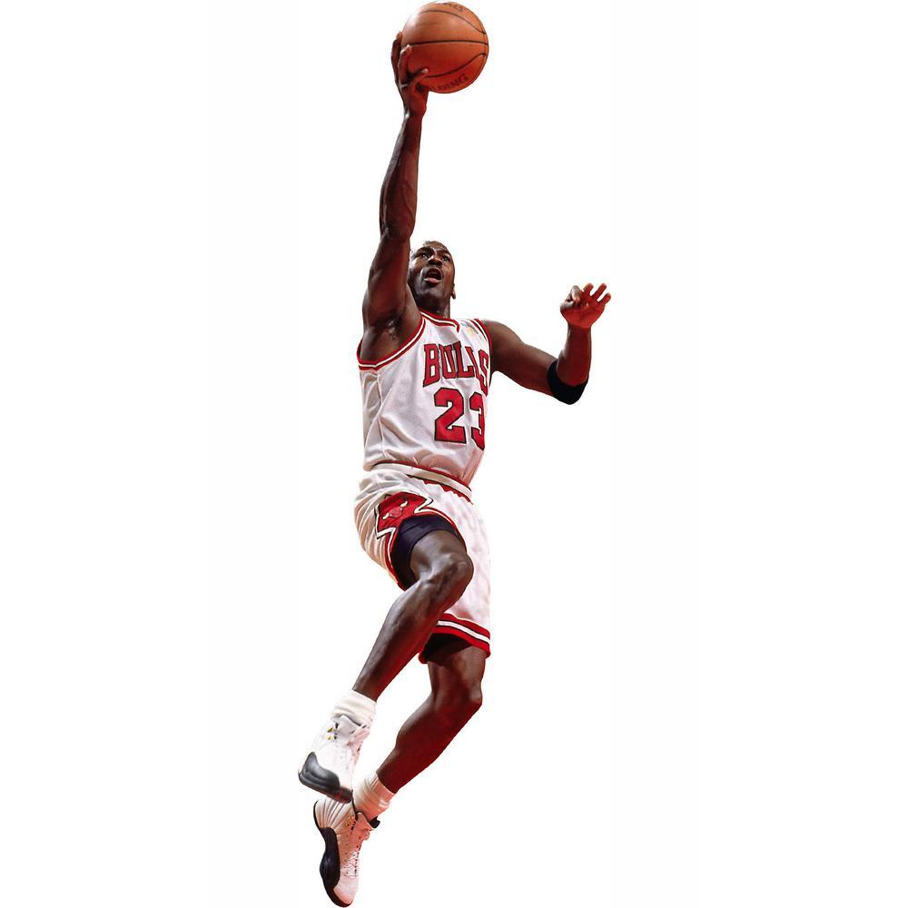 sports shoes 5a76c 92ed1 W Michael Jordan Layup - Fathead Jr Wall