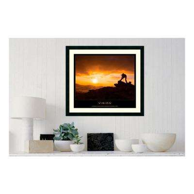 30.25 in. W x 27.13 in. H Vision' Printed Framed Wall Art