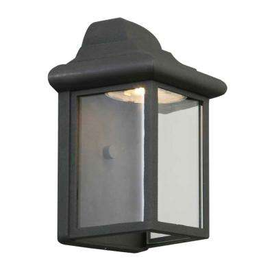 Montrose 12-Watt Black Outdoor Integrated LED Wall Mount Sconce