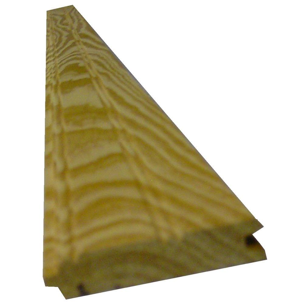 1 in. x 8 in. x 8 ft. Southern Yellow Pine