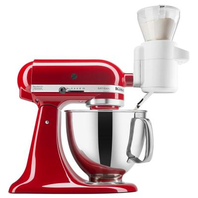 KitchenAid-White Sifter and Scale Attachment