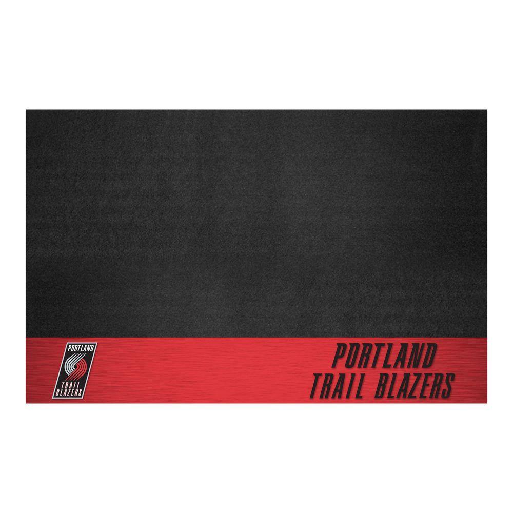 Portland Trail Blazers 26 in. x 42 in. Grill Mat