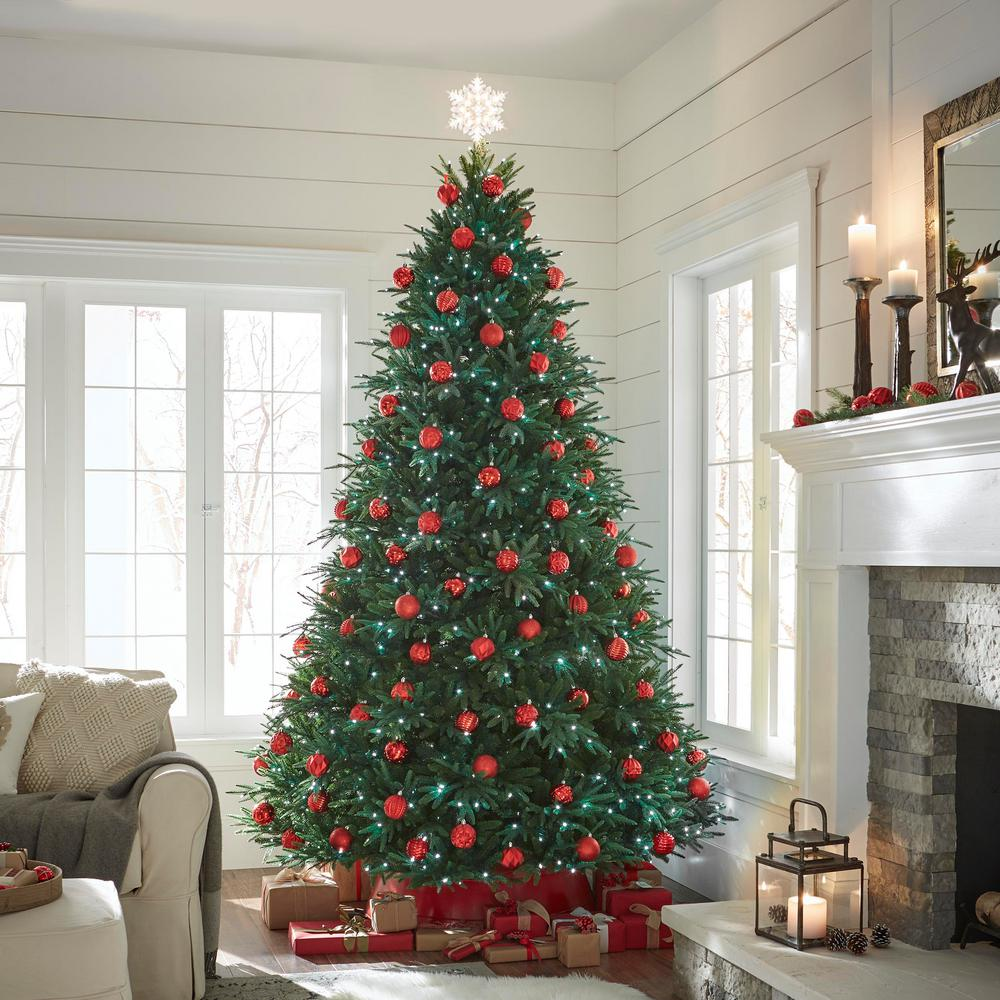 9 ft  Splendor Spruce EZ Power Artificial Christmas Tree with 780  42-Function LED Lights and Remote Control