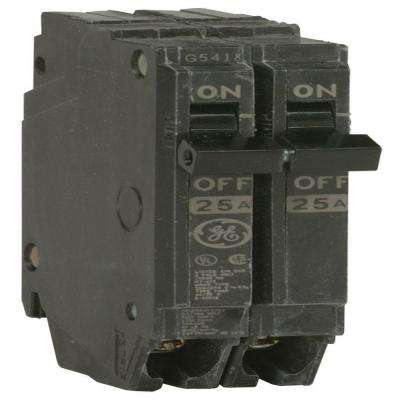 Q-Line 25 Amp 1 in. Double-Pole Circuit Breaker
