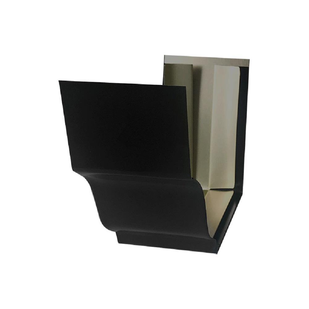 0.45 ft. Bronze Aluminum Slip Joint Gutter Connector